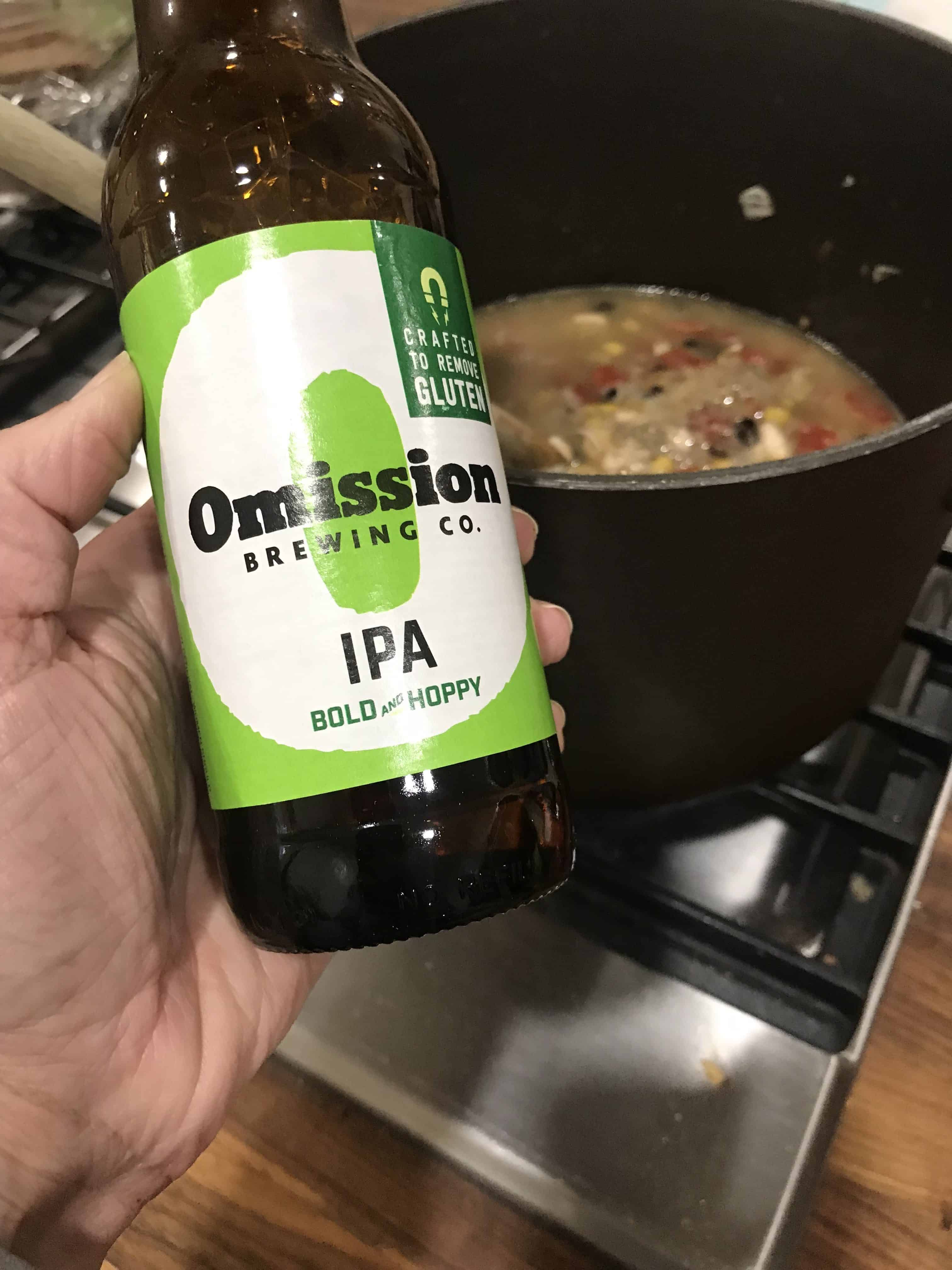 Gluten free beer for tortilla soup