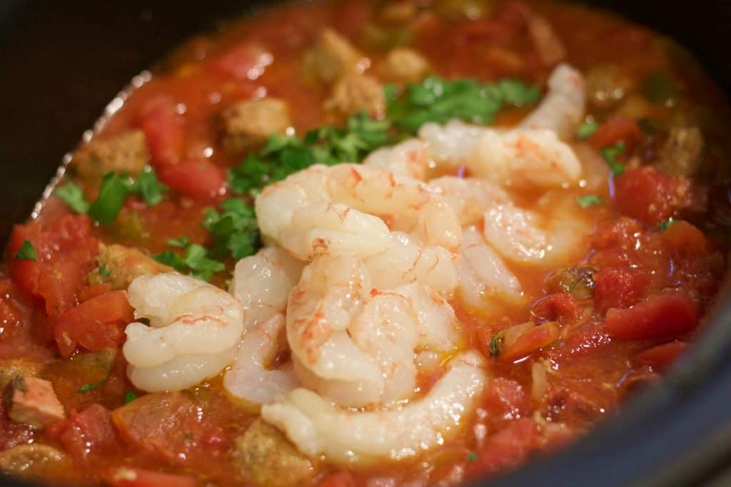 Slow Cooker Jambalaya With Shrimp || Erin Brighton | slow cooker | easy dinners | gluten free | Got To Be NC