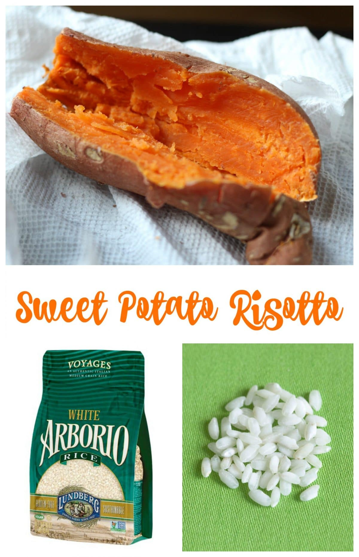 Sweet Potato Risotto || Erin Brighton | gluten free recipes | vegetarian | easy dinners | one pot meals