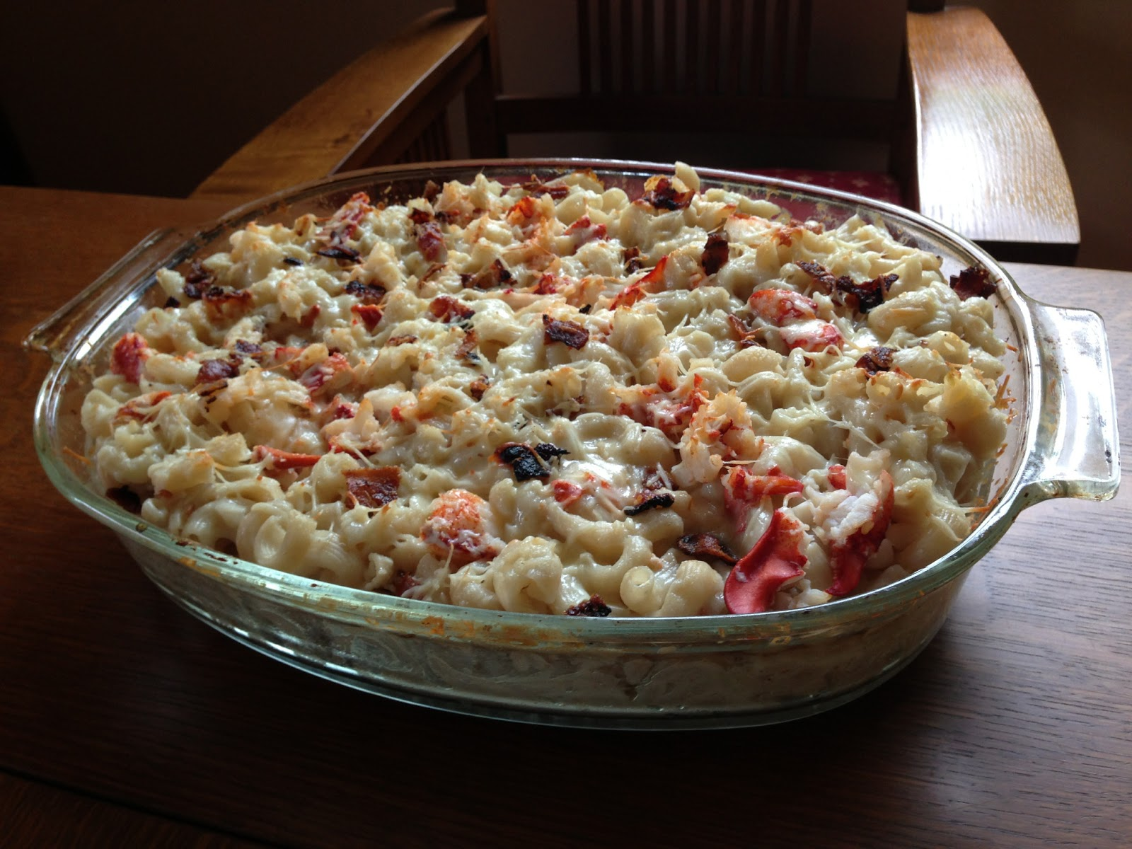 Gluten-Free Lobster Mac & Cheese With Smoky Bacon Cheddar