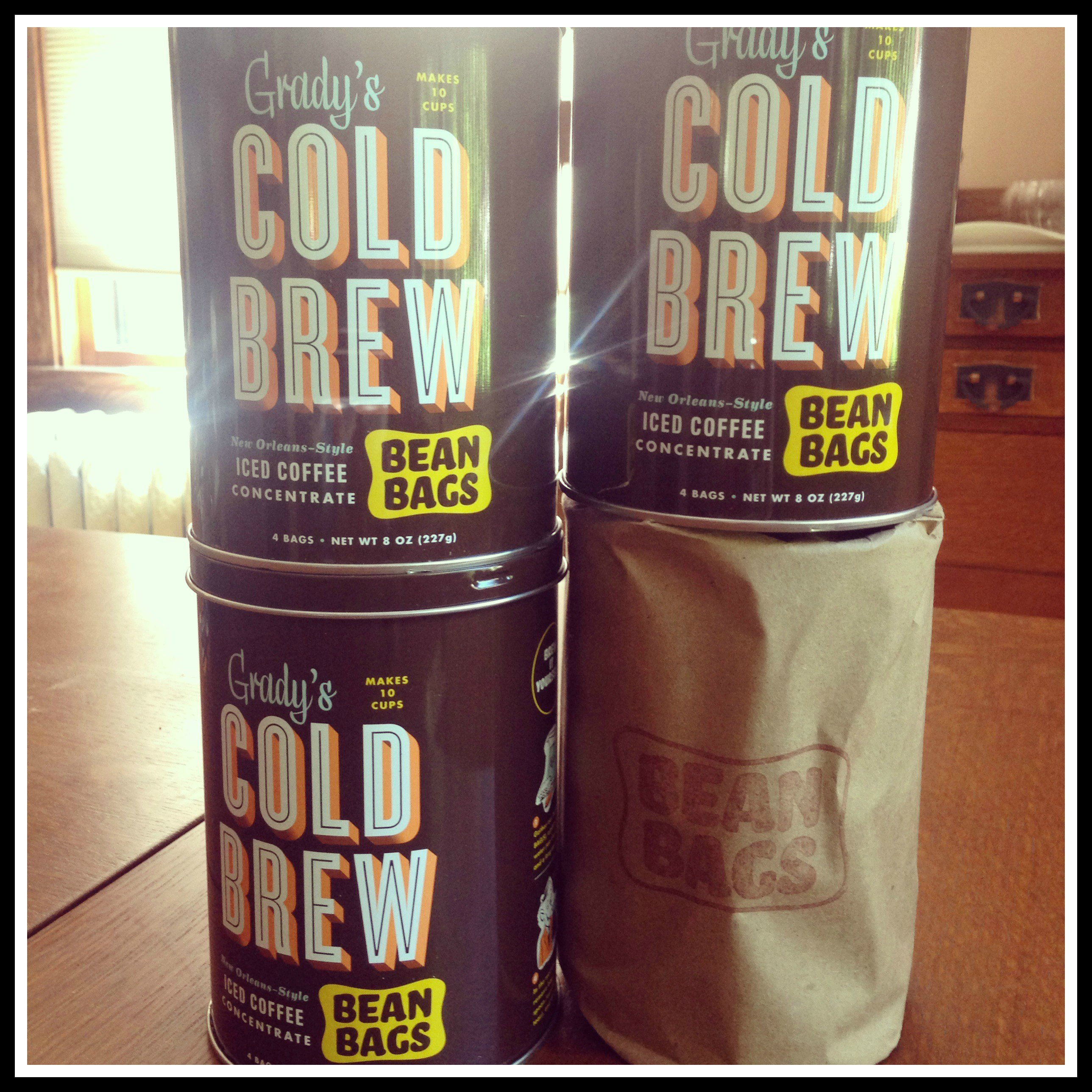 Grady's Cold Brew Iced Coffee Bean Bags