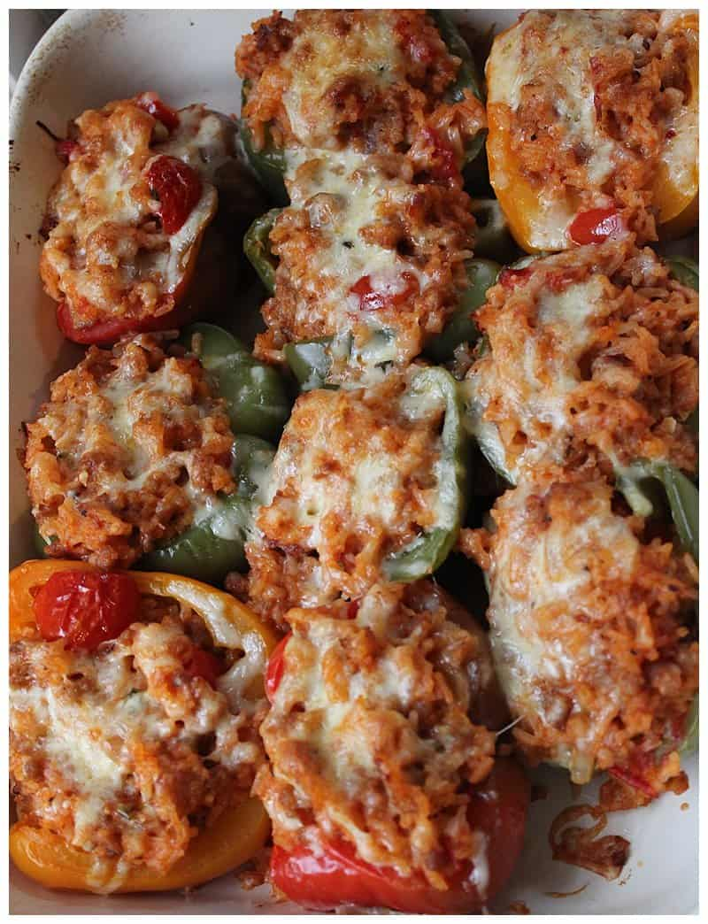 Italian Baked Stuffed Peppers