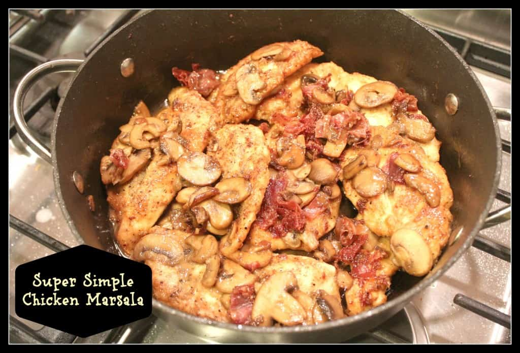 super simple chicken marsala