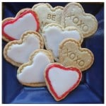 Simple Sugar Cookies With White Icing
