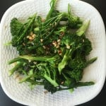 Sauteed Broccoli With Crispy Garlic