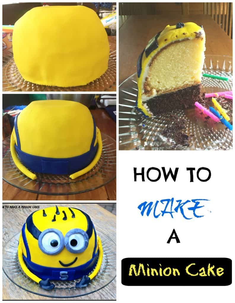 Enjoyable Minion Madness How To Make A Minion Cake Erin Brighton Personalised Birthday Cards Paralily Jamesorg