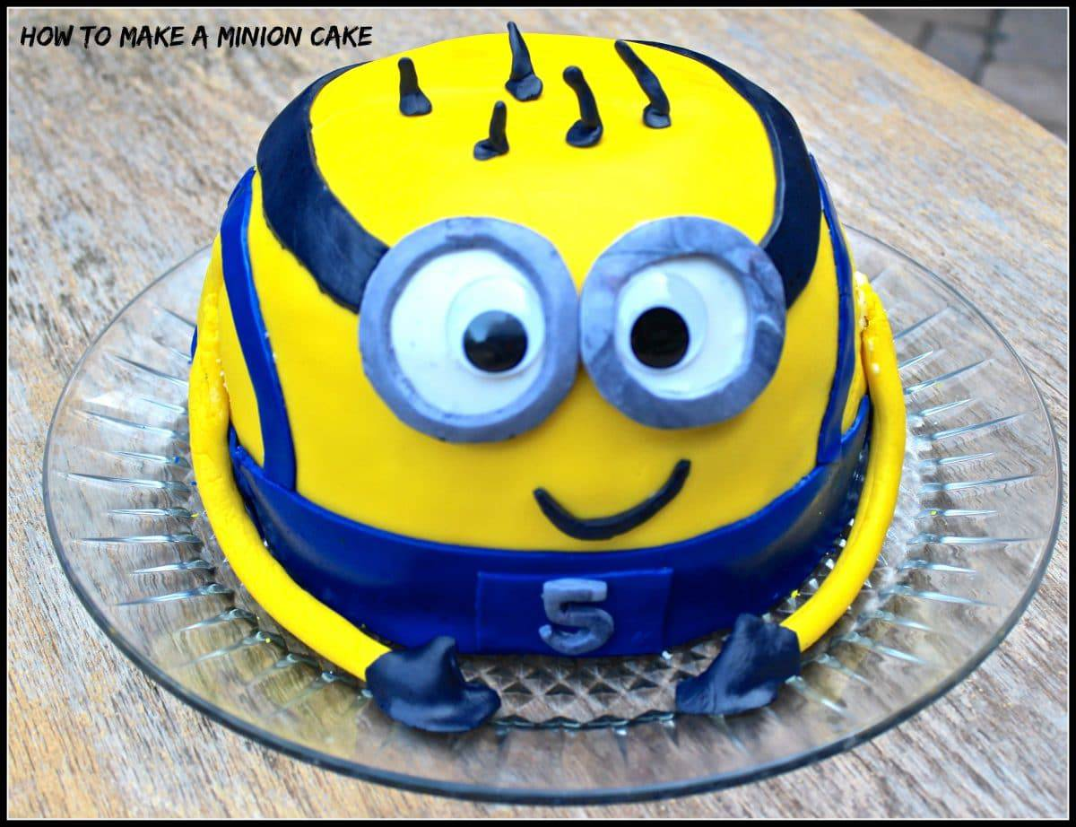 Strange Minion Madness How To Make A Minion Cake Erin Brighton Personalised Birthday Cards Paralily Jamesorg