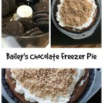 Bailey's Chocolate Freezer Pie || Erin Brighton | gluten free | dessert | no bake | Baileys | Heath Bar