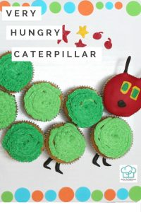 Very Hungry Caterpillar Cupcakes | Kids party | birthday | book characters | gluten-free recipes | cooking tips | cake decorating