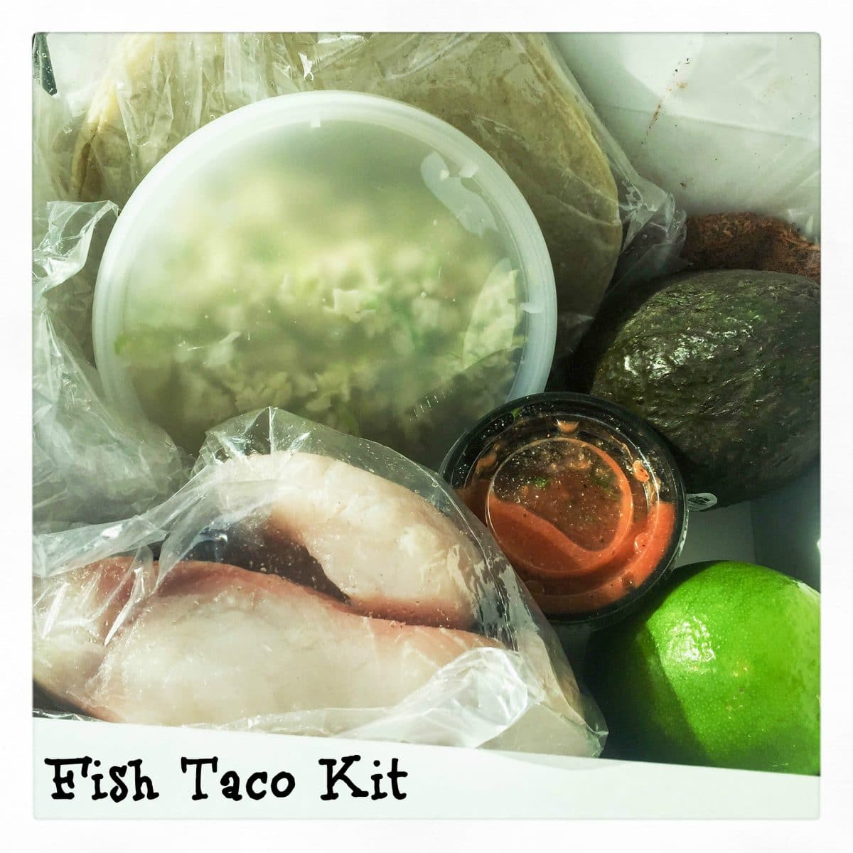 Fish Taco Kit From Catch On Seafood
