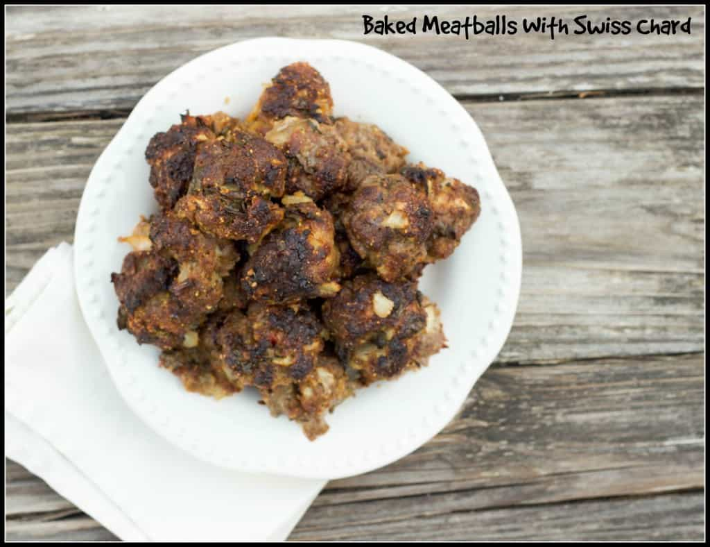 Baked Meatballs!