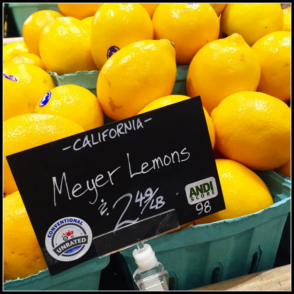Meyer Lemons From Whole Foods