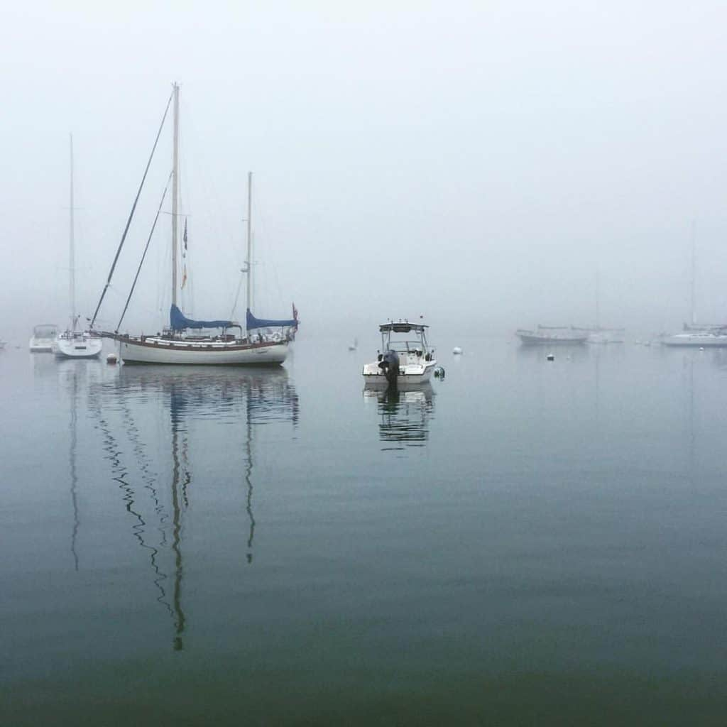 Fog in Scituate Harbor