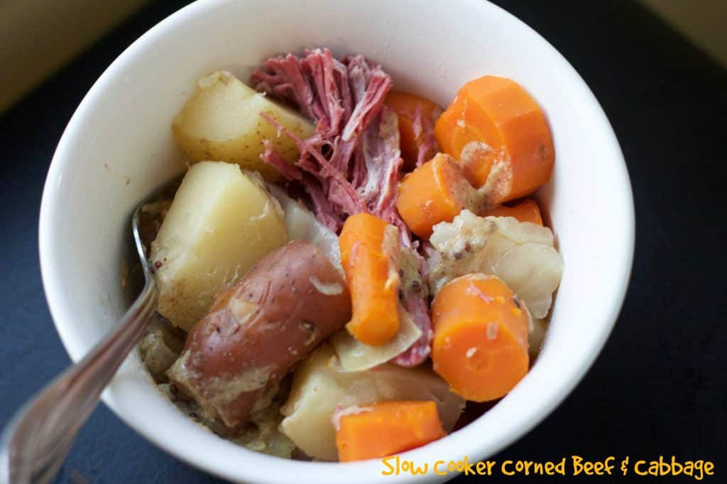 Slow Cooker Corned Beef and Cabbage