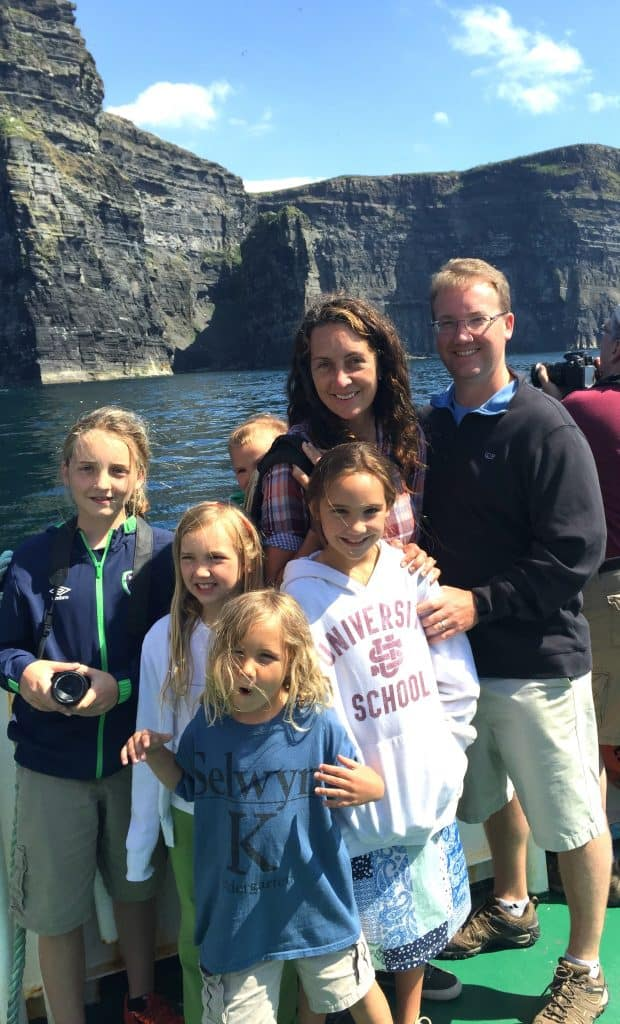 Ireland With Kids - Cliffs of Moher