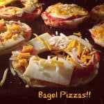 Bagel Pizza – Dinner Can't Get Easier! #SundaySupper