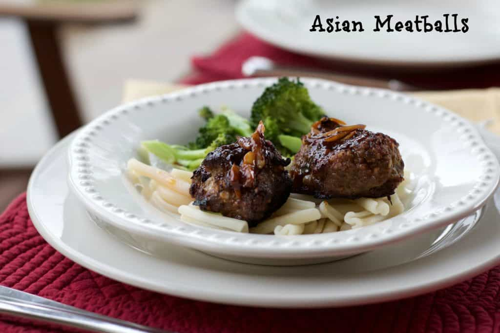 Asian Meatballs With Garlicky Hoisin Sauce    Erin Brighton   gluten free   got to be NC   kid friendly   easy dinners