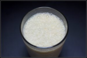 Eggnog Coffee Frappe || Erin Brighton | Sunday Supper | gluten free | dessert | coffee drinks | holidays