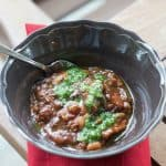 Roasted Veggie Green Chili