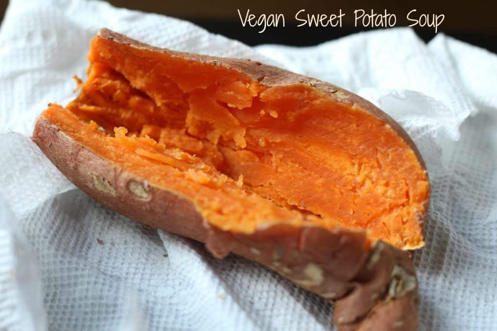 Vegan Sweet Potato Soup || Erin Brighton || vegan | gluten free  | vegetarian | whole30