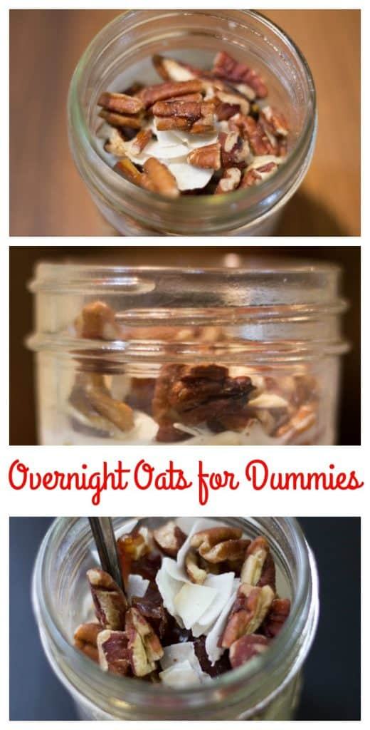 overnight oats for dummies || Erin Brighton | gluten free | breakfast | easy | oats