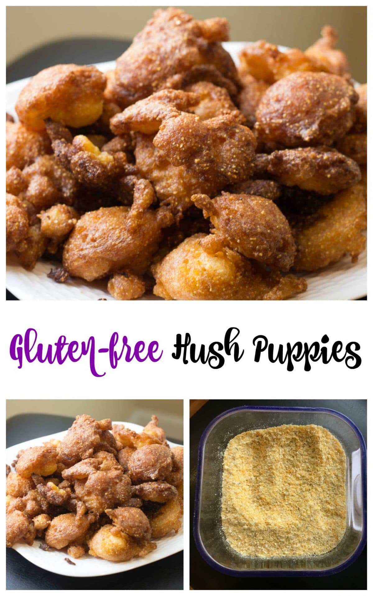 Gluten-free hush puppies || Erin Brighton | gluten free | easy recipes | Southern cooking | Got To Be NC