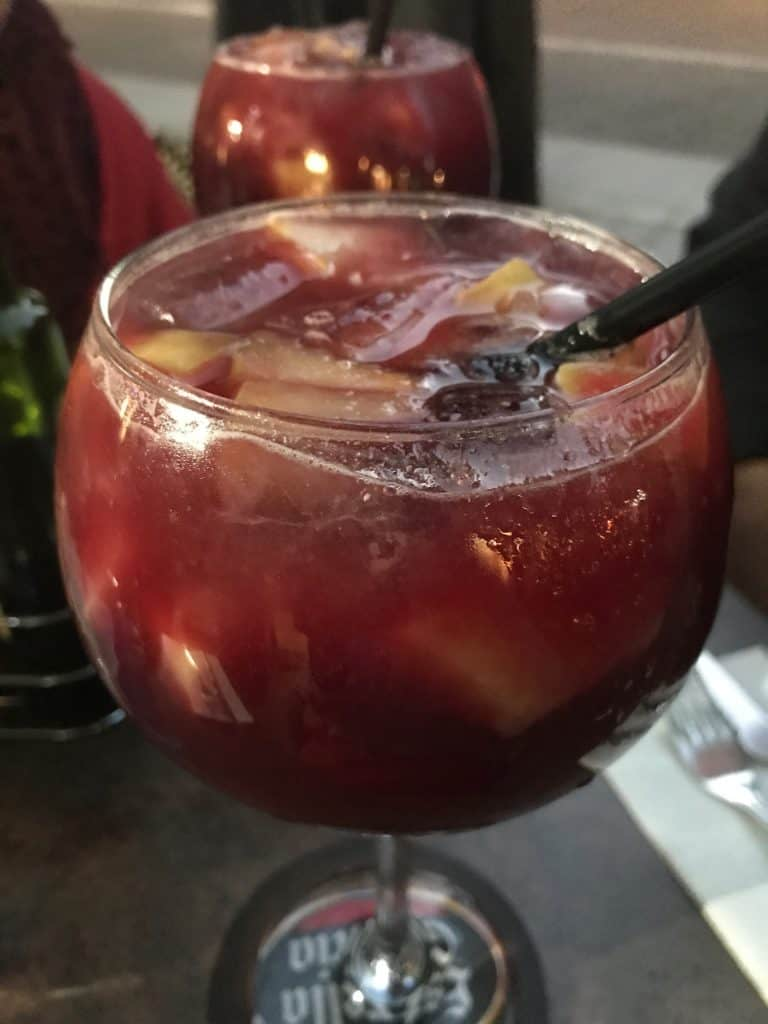 Sangria in Madrid