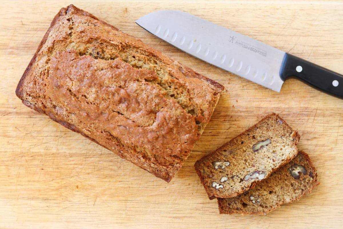 Browned Butter Banana Bread || Camp Brighton | quick breads | gluten free | easy breakfasts | brunch | breakfast | dessert