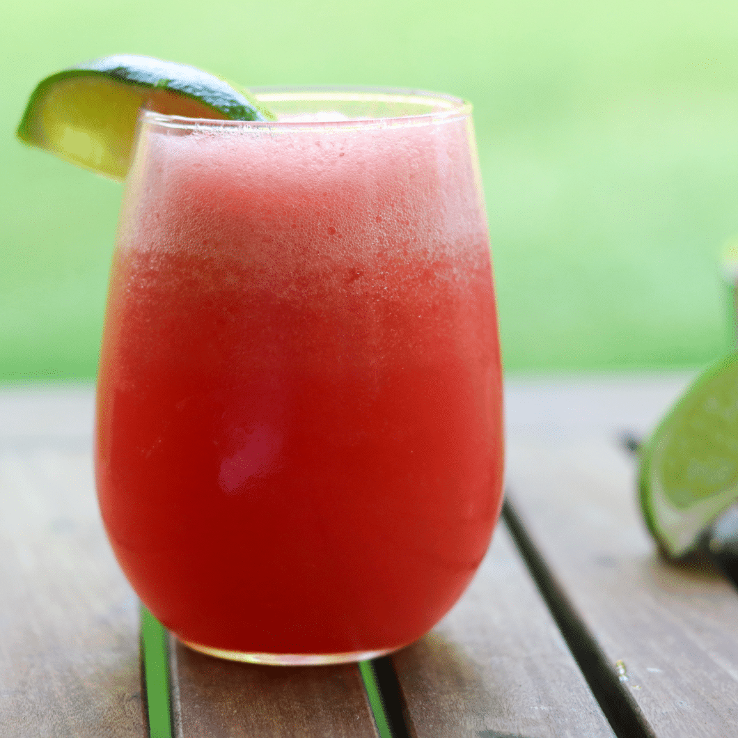 Slushy Watermelon Margarita