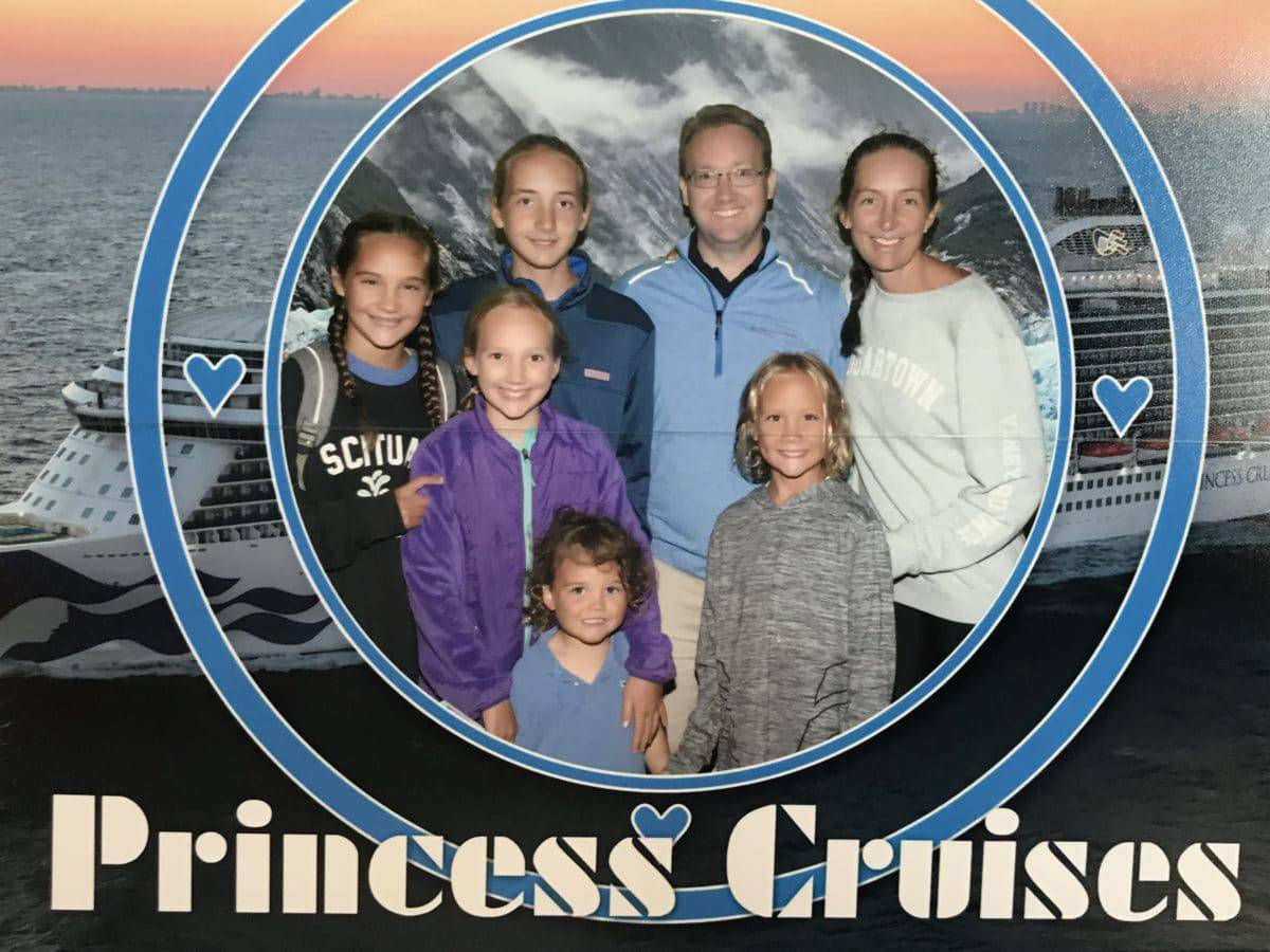 Princess Cruise Family Photo