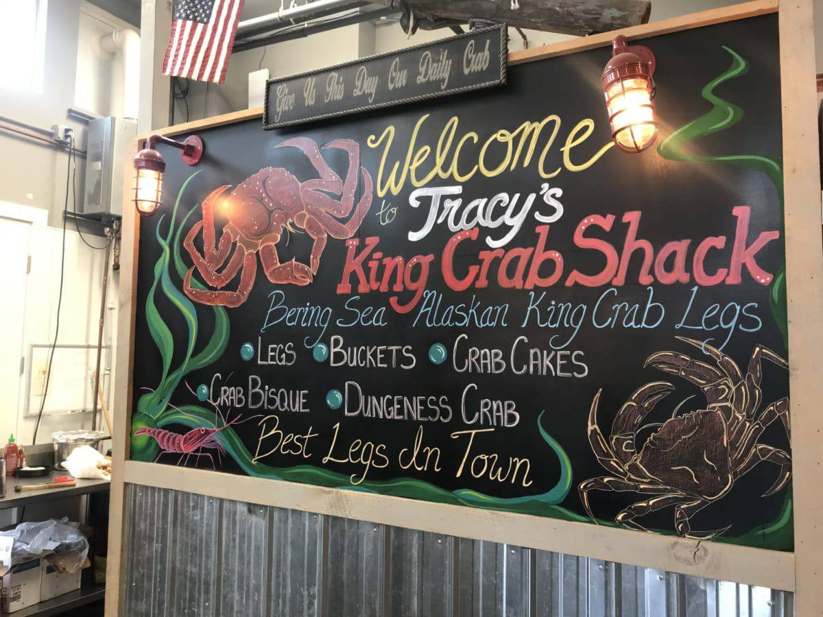 Tracys Crab Shack in Juneau