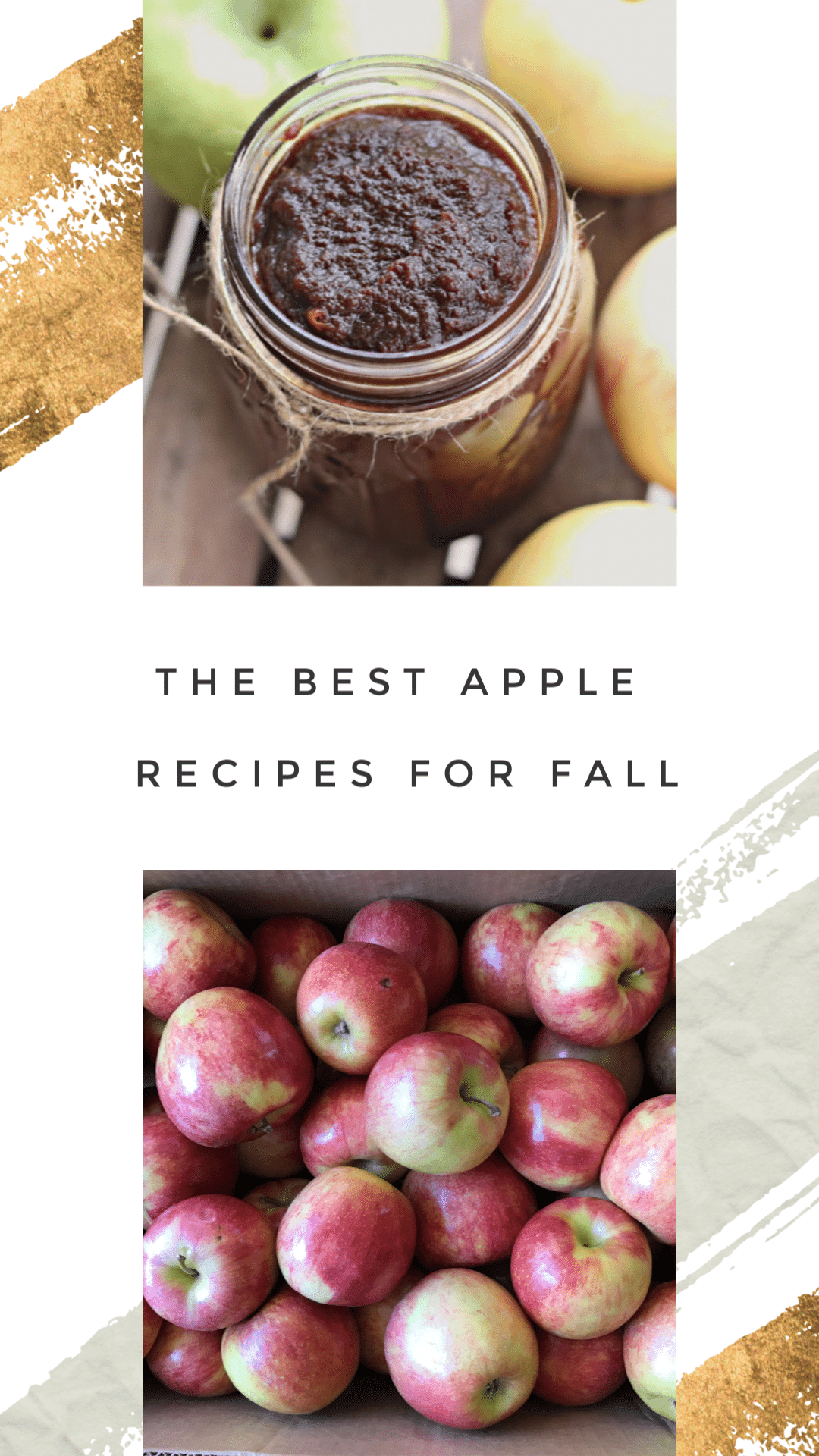 Best apple recipes for fall pin