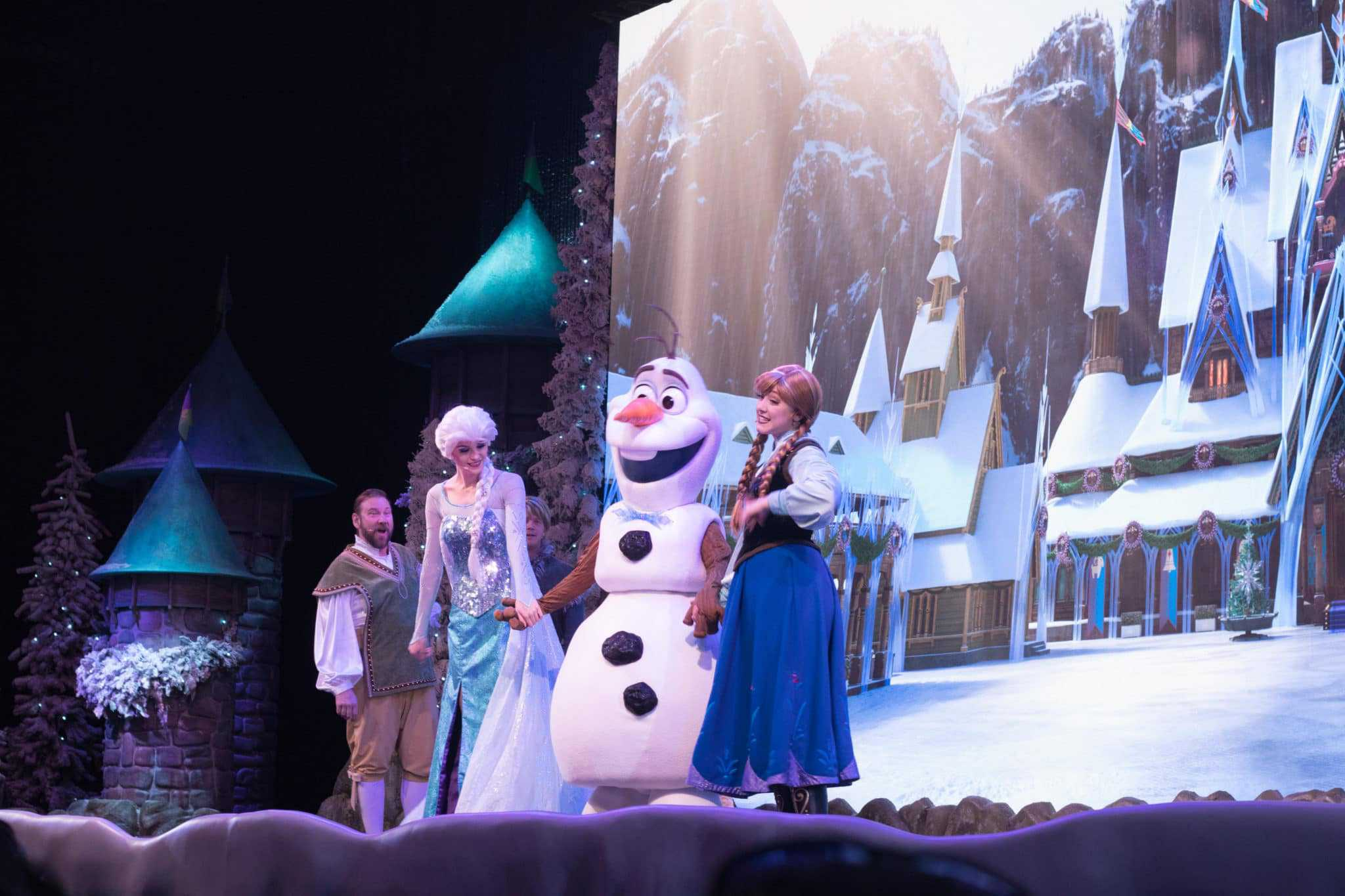 Frozen Sing A Long at Hollywood Studios