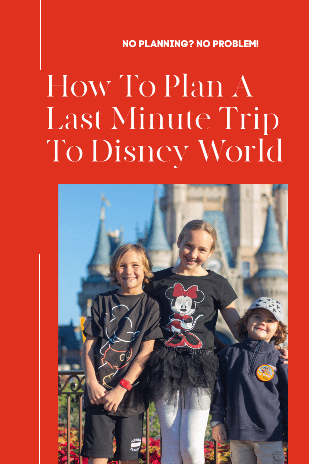 how to plan a trip to disney