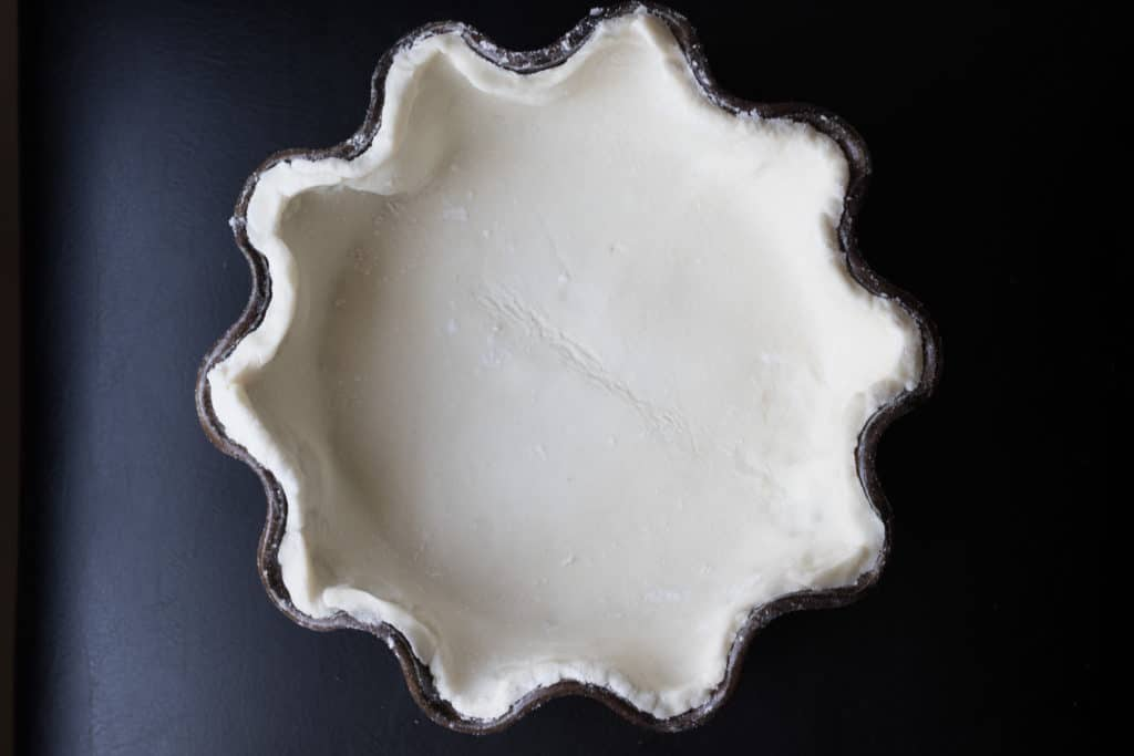 Picture perfect gluten-free pie crust!