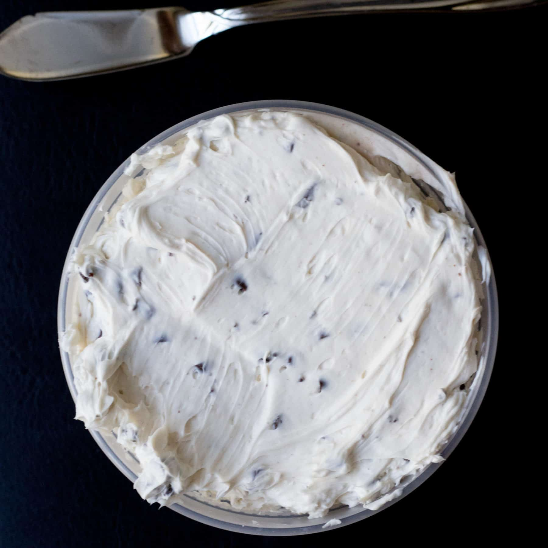 Pint of cream cheese